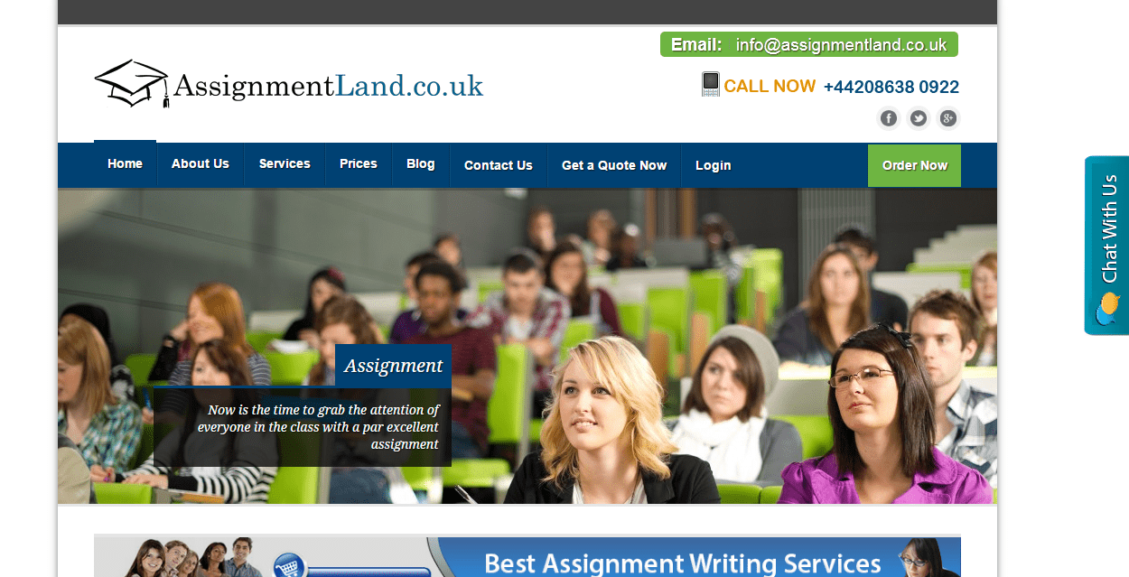 assignmentland co uk review  assignmentland co uk promises cheap and professional writing assistance guaranteed because only experts years of experience in writing are employed in