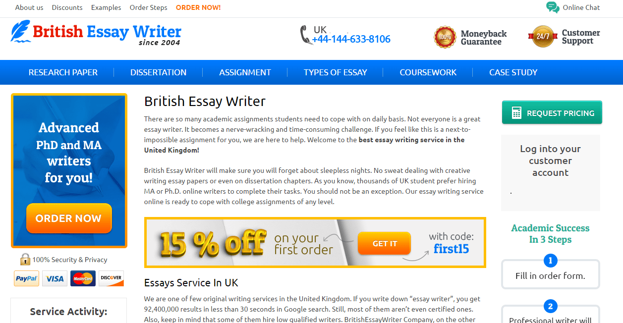 part 2 britishessaywriter org uk review